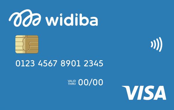 carta di credito Visa Widiba