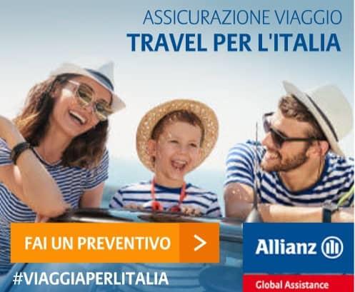 migliore assicurazione viaggio Allianz per l'Italia