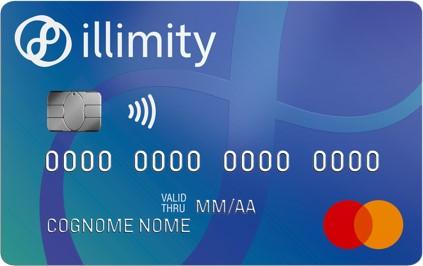 carta di credito MasterCard illimity